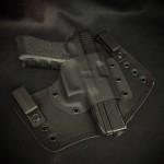 Guns Holsters  Holster Kydex / Cuir / Feutrine INSIDER HYBRIDE (IWB)