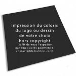Choix de Coloris du Holster  IMPRESSION KYDEX PERSONNALISE (coloris, logo, image de votre choix)