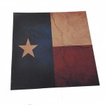 Choice of Holster Colors  Kydex Texan Flag - Rustic Style