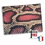 Choix de Coloris du Holster  Kydex Peau De Serpent Rose