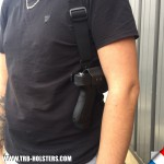 Guns Holsters  Holster Kydex OUTSIDER D'EPAULE (OWB)