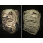Tactical Accessories   Poche Tactique Reversible en ABRASTOP - Camo CE & Coyote