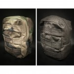 Tactical Accessories   Poche Tactique Reversible en ABRASTOP - Camo CE & Black