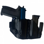 Guns Holsters  Holster Kydex DOUBLE INSIDER SHOCK CORD by KST (IWB)