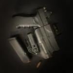 Etuis Armes à feu  Holster Kydex INSIDER SHAPE LAMPE by KST (IWB)