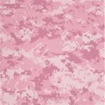 Digital Pink Camo Lisse 2mm