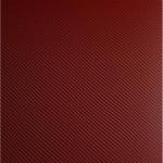 Carbon Fiber Red Blood 2mm