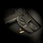 Guns Holsters  Holster Kydex INSIDER avec Surcouche Cuir (IWB)
