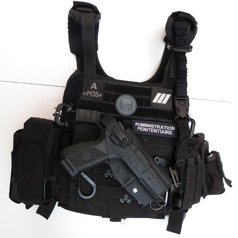 Holsters d'intervention