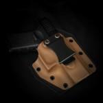 Etuis Armes à feu  Holster Kydex / Cuir / Feutrine INSIDER HYBRIDE COMPACT (IWB)