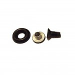 - The Fasteners  1 Stainless Steel Screw, Eyelet and Nut Set for Fixing PLP Holsters (Corrosion Resistant)