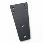 - The Fasteners  TRB holster adapter plate on Blackhawk thigh plate