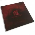 Choix de Coloris du Holster  Kydex Rouge / Noir Usé - Casque Spartiate Et Molon Labe