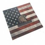 Choice of Holster Colors  Kydex American Flag - Spartan And Molon Labe Helmet