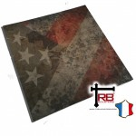 Choice of Holster Colors  Kydex American Flag with Rust