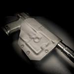 Etuis Armes à feu  Holster Kydex OUTSIDER pour MK23, SILENCIEUX, avec ou sans LAM (OWB)