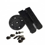 - Les Fixations  Roto Lock & 2 Molle Loks (7 Inclinaisons Possibles) + Visserie Inoxydable (OWB)