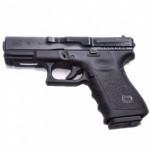 Accessoires Tactiques  CLIPDRAW GS-B - Broche Inside Noire - Pour Glock 17, 19, 19X, 22, 23, 24, 25, 26, 27, 28, 30S, 31, 32, 33, 34, 35, 36, 45 (GEN1 à GEN5)